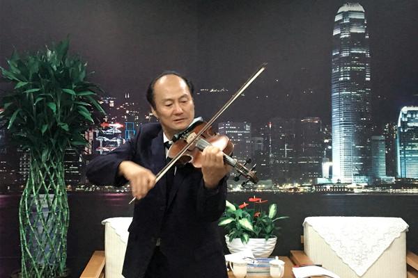 """《我心中的外交官》,演奏了小提琴独奏,弘扬了""""一带一路""""的倡议!"""