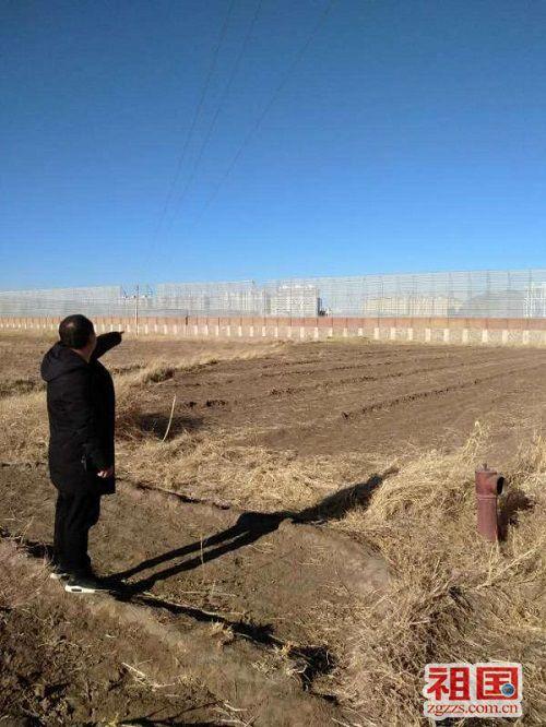内蒙古阿鲁科尔沁旗一乡村占地材料被指造假